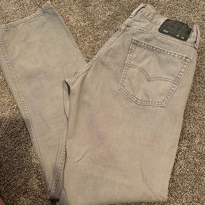 Levi's 514 SlimStraight 💯 Cotton gray jeans 32x34